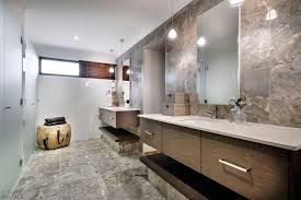 Bathroom Frameless Mirrors Modern Bathroom With Two Sinks And Frameless Mirrors Also Lovely