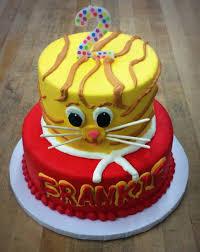 daniel tiger cake daniel tiger party cake trefzger s bakery