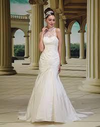 halter neck wedding dresses halter neck fit and flare wedding dress pianta northern