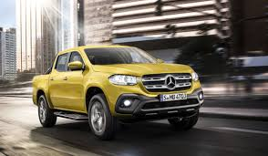 bugatti pickup truck say hello to the x class the first mercedes pick up truck