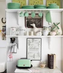open kitchen shelves decorating ideas decorating with jadeite dishes homes decor ideas kitchen