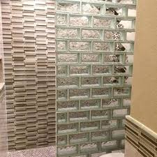 glass block bathroom ideas glass brick wall glass block for your bathroom remodel glass brick