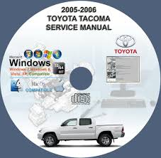 toyota tacoma factory service manual on toyota images tractor