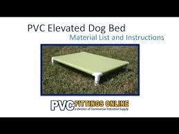 Pvc Pipe Dog Bed Pvc Elevated Dog Bed Diy Guide Youtube