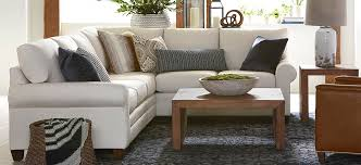Hgtv Home Design Studio At Bassett Cu 2 Living Sectionals Fabric Seating
