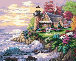 popular wall painting seaside buy cheap wall painting seaside lots