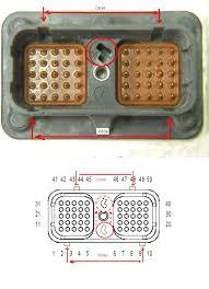 need schematics for cummins isx ecm and diagnostic connector cpl8283