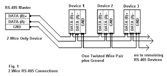 rs 485 connections faq 2 wire rs485 rs232 b u0026b electronics
