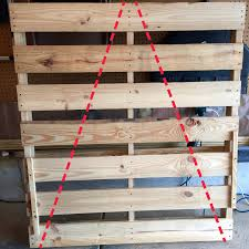 pallet christmas tree how to make two christmas trees from one wooden pallet live