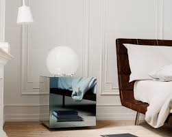 Mirrored Night Stands Color U0026 Mirror