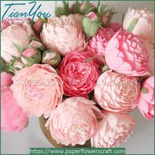 wedding flowers pink pink paper wedding flowers design wholesale paper flower company