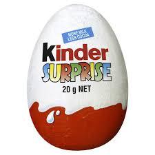 kinder suprise egg kinder egg 20g kmart