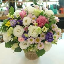 flower baskets fgk s flower basket of the day medium flower delivery south