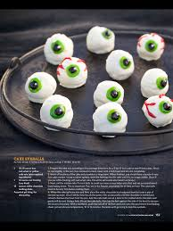 cake eyeballs the pioneer woman halloween treats halloween