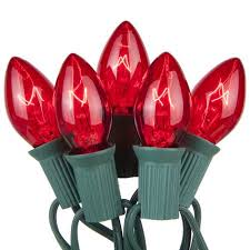 kringle traditions c7 transparent lights walmart
