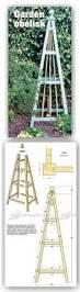 garden obelisk plans outdoor plans and projects woodarchivist