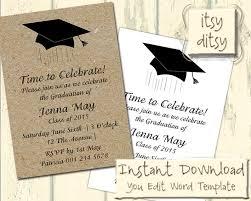 graduation announcement templates 4x6 graduation announcement template 54 best grad stuff images on