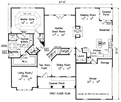 House Plans With Keeping Rooms Templeton House Floor Plan Frank Betz Associates