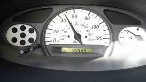 2005 toyota echo hits 100 000 miles youtube