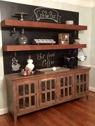Pottery Barn Kitchen Hutch by Floating Shelves In The Dining Room Wine Glass Storage Buffet