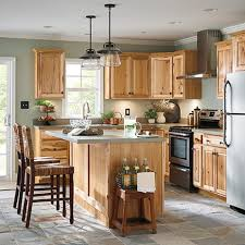 brown kitchen cabinets lowes now denver 30 in w x 36 in h x 12 in d hickory door wall stock cabinet