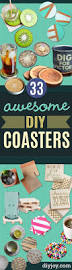 33 awesome ideas for diy coasters tile painting diy coasters