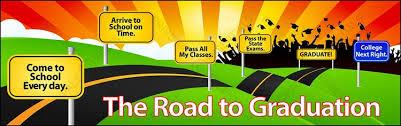 graduation vinyl road vinyl banner