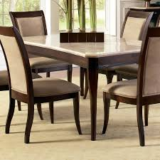 white marble dining table set shop steve silver company marseille marble dining table at lowes