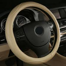 2017 sell leather auto car steering wheel cover anti catch for
