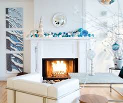Christmas Decorations In Blue And White by Decorating A Blue U0026 White Christmas Ideas U0026 Inspiration