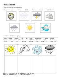 weather match printable weather u0026 seasons for preschool