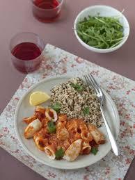 cuisiner de la seiche sépia seiche à l algérienne recette recette de recettes et