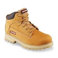 craftsman men u0027s kujo nubuck leather soft toe work boot wheat