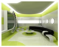Interior Green Trendy Modern Interior Decorating Living Room Designs Cool Home