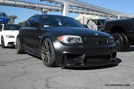 bmw 1m black matte black ps garage