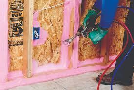 air sealing with sprayable caulk greenbuildingadvisor com