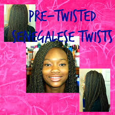 medium size packaged pre twisted hair for crochet braids pre twisted senegalese crochet twists detailed step by step