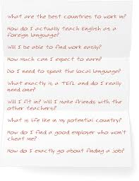 How To Find My Resume Online by Discover How To Get An English Teaching Job Overseas