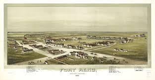 Reno Map Fort Reno Oklahoma Territory 1891 World Digital Library