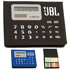 Promotional Desk Accessories Promotional Calculator Sticky Note Pad Customized Calculator