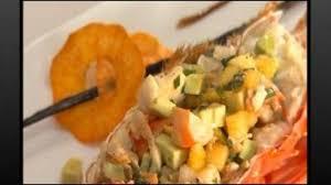 cuisiner une langouste comment cuisiner une langouste aux fruits exotiques et huile de
