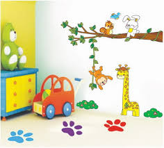 Simple Kids Room Painting Ideas Home Design - Wall painting for kids room