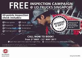 volvo email ud trucks ud trucks singapore free inspection campaign