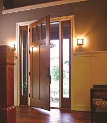 Patio Doors With Venting Sidelites by Thermatru Doors For A Modern Living Room With A French Doors And