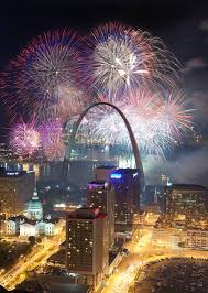 new year s st louis happy new year fireworks st louis mo intresting spots in