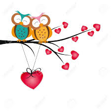 cute valentines day owl clipart clipartxtras
