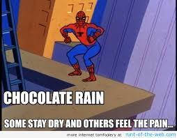 Chocolate Meme - image spider man meme chocolate rain jpg diep io wikia