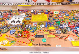us route 66 arizona map map of route 66 stock photos map of route 66 stock images alamy