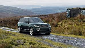 luxury land rover the holland u0026 holland range rover is loaded with luxury features