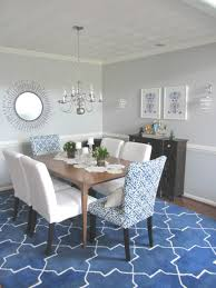 Brown And Blue Dining Room Dining Room Elegant Rug For Under Dining Table Design Founded